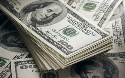 US dollar double top